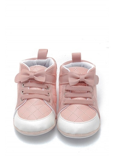 First Step Kurdeleli Esnek ve Kaydırmaz İlk Adım Ayakkabısı  F-529 Pembe